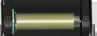 碳带套纸管芯