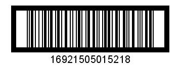 IFT14纸箱条形码