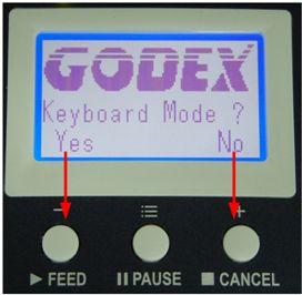 进入键盘模式