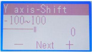 改变Y轴打印位置