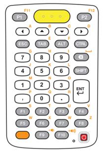 斑马MC3300 38键布局