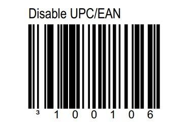 关闭EAN-13功能