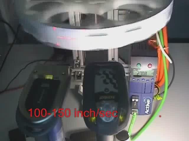 100-150inch/s时的容差