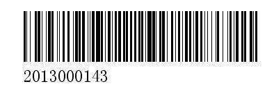 过滤后的条形码