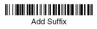 扫描suffix条码