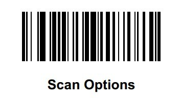 SCAN OTIONS