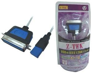USB转IEEE1284打印线
