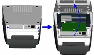 科道打印机外部圆孔十孔接线图